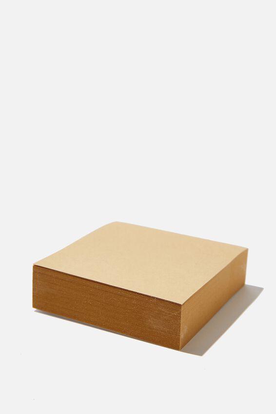 Sticky Note Block, CRAFT