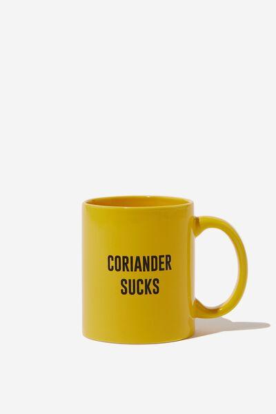 Anytime Mug, CORIANDER SUCKS