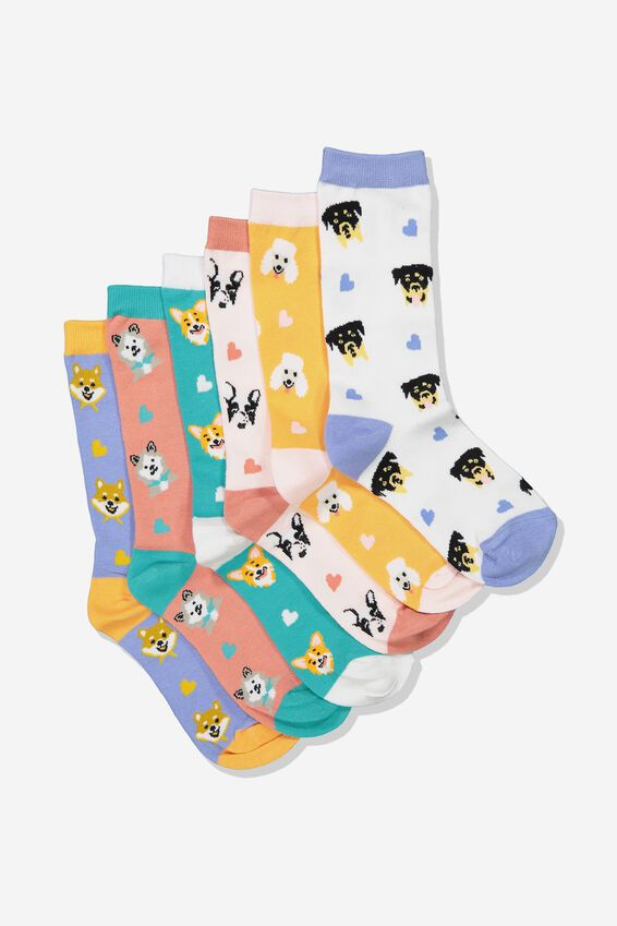 Odd Sock Pack, DOG LOVER
