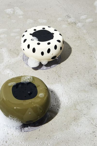 Wireless Shower Speaker, MATTE KHAKI 2 0
