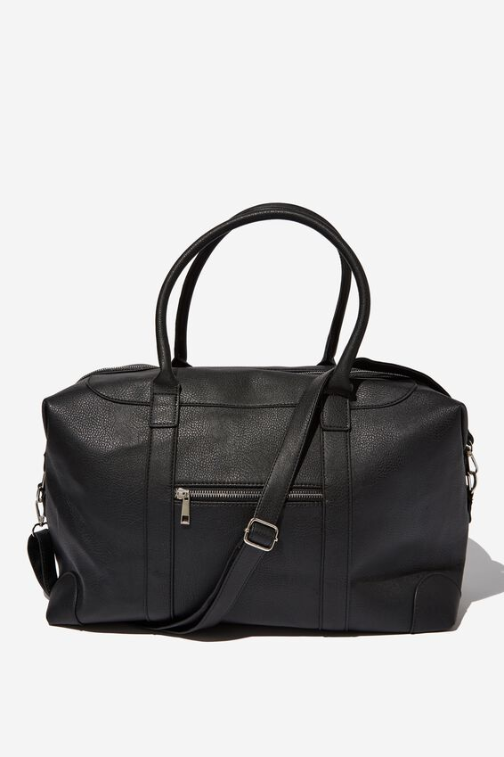 Nuevo Overnighter Bag, BLACK