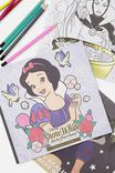Disney Between The Lines Colouring Book, LCN SNOW WHITE