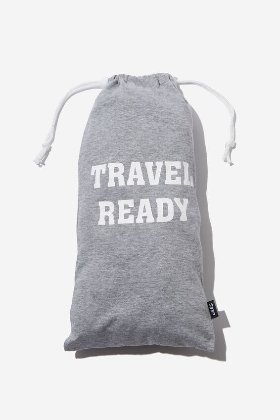 Travel Set, GREY MARLE S/M