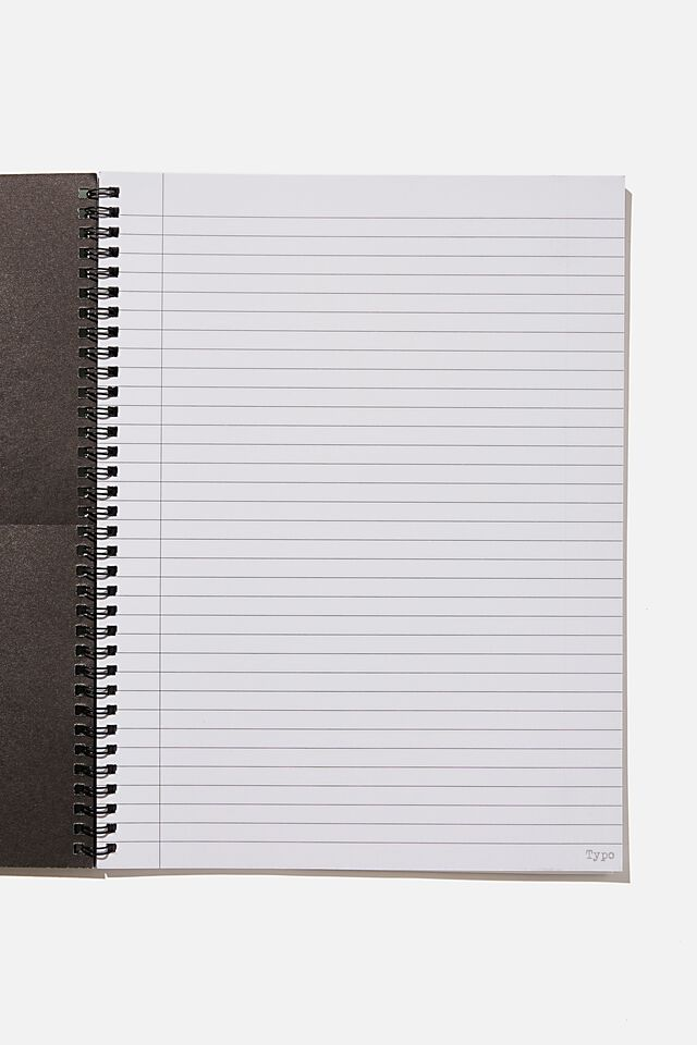 A4 Spinout Notebook Recycled, COMPREHENSIVE GUIDE TO BOOK