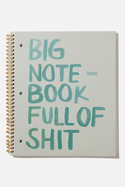 College Ruled Campus Notebook, FULL OF!