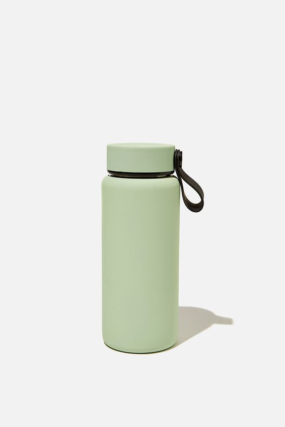 On The Move Metal Drink Bottle 350Ml, ALLY GREEN