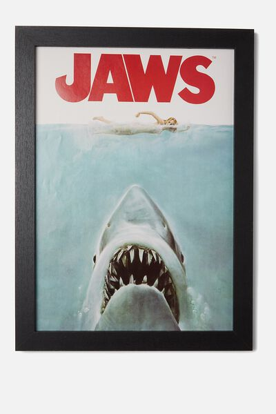 A3 Framed Print, LCN JAWS