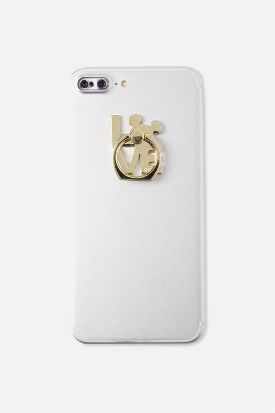 Metal Phone Ring, LCN MICKEY LOVE