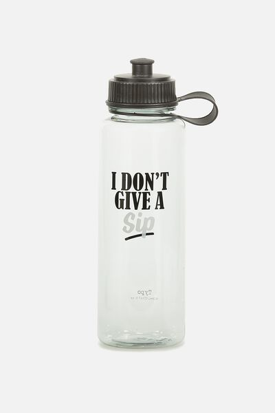 The Quencher Drink Bottle, GIVE A SIP