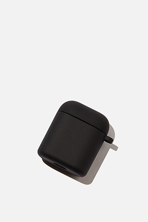 Premium Ear Bud Sleeve, MATTE BLACK