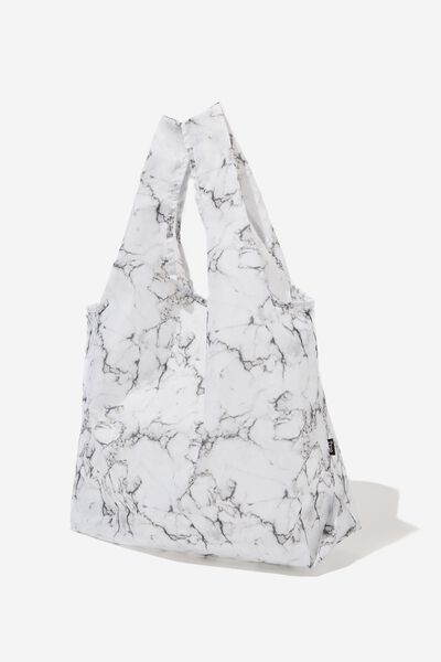 Shopper Tote Bag, MARBLE