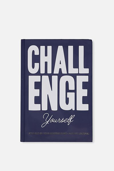 Activity Time Journal A5, CHALLENGE YOURSELF