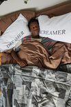 Sleepy Head Pillowcase Set, SCREAMER & DREAMER