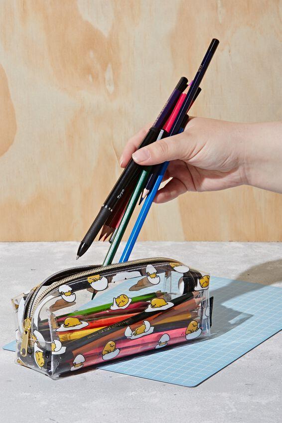 Gudetama Bailey Pencil Case, LCN SAN GU GUDETAMA