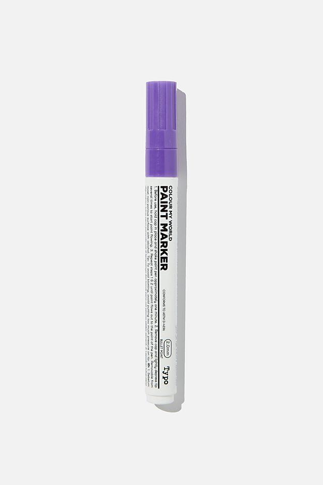 Colour My World Paint Marker, PURPLE