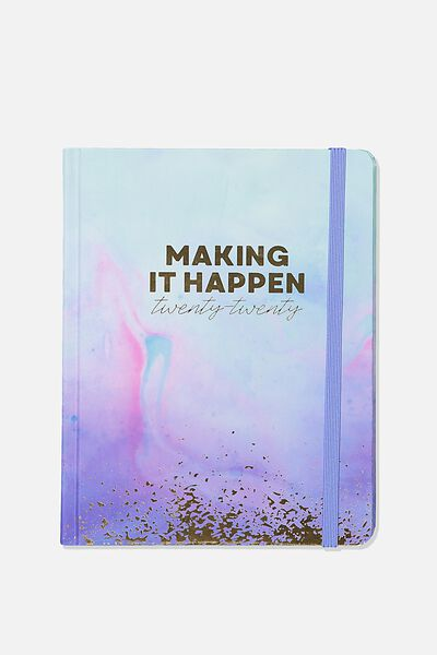 2020 Essential Diary, PARADISE WATERCOLOUR