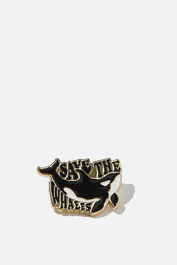 Enamel Badges, SAVE WHALES