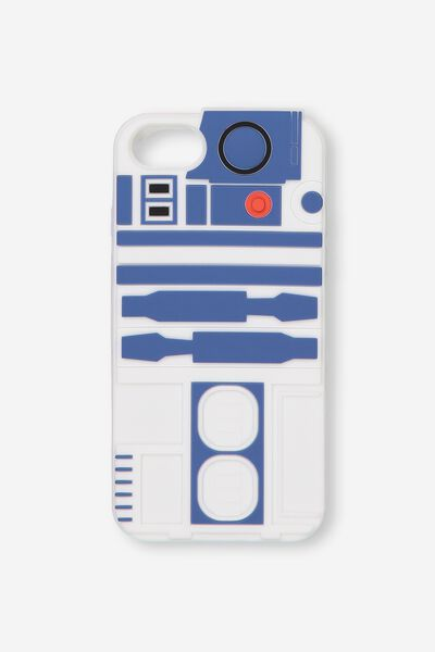 Shaped Silicone Phone Cover Universal 6,7,8, LCN R2D2