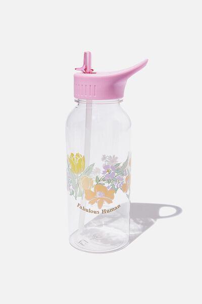 Drink It Up Bottle, FLOWER WREATH