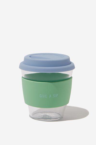 Give A Sip Cup 8Oz, BLUE MINT