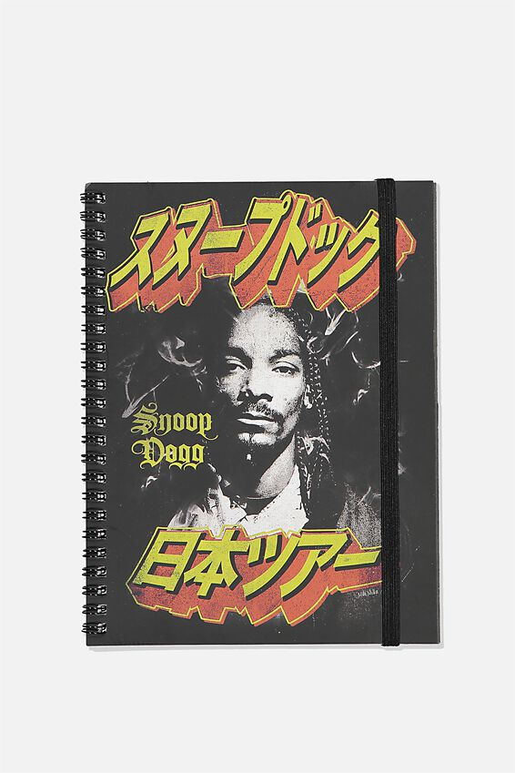 Small Snoop Dogg Spinout Notebook, LCN MT SNO