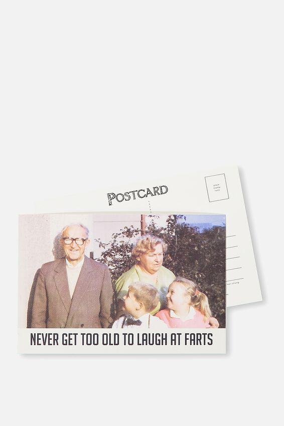 Postcard, GET TOO OLD