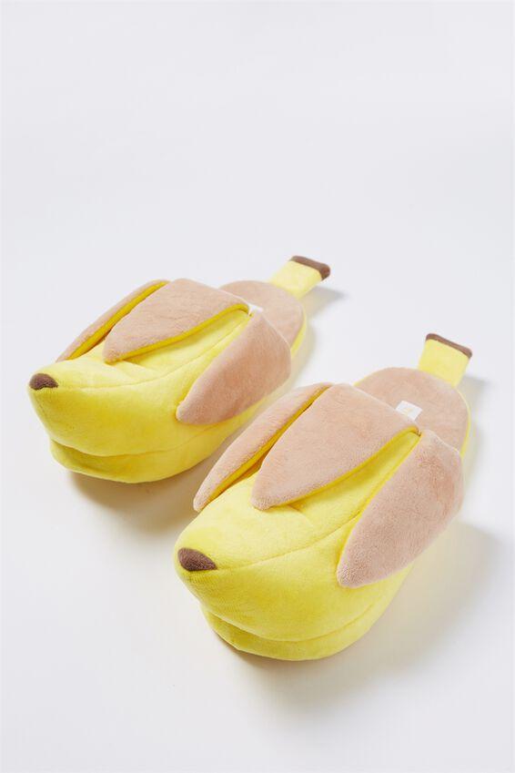 Novelty Slippers, BANANA