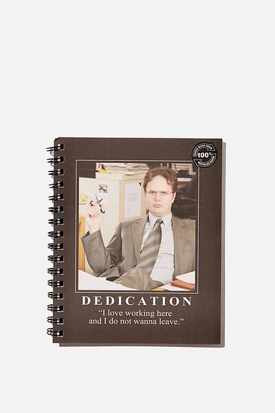 A5 Campus Notebook Recycled, LCN UNI DWIGHT DEDICATION