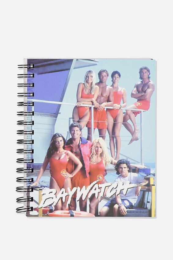 "A5 Baywatch Campus Notebook-V (8.27"" x 5.83""), LCN FRE BW BAYWATCH"
