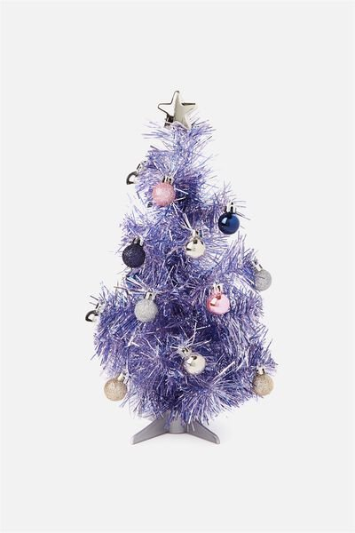 Mini Xmas Tree Pack, LILAC & PASTELS