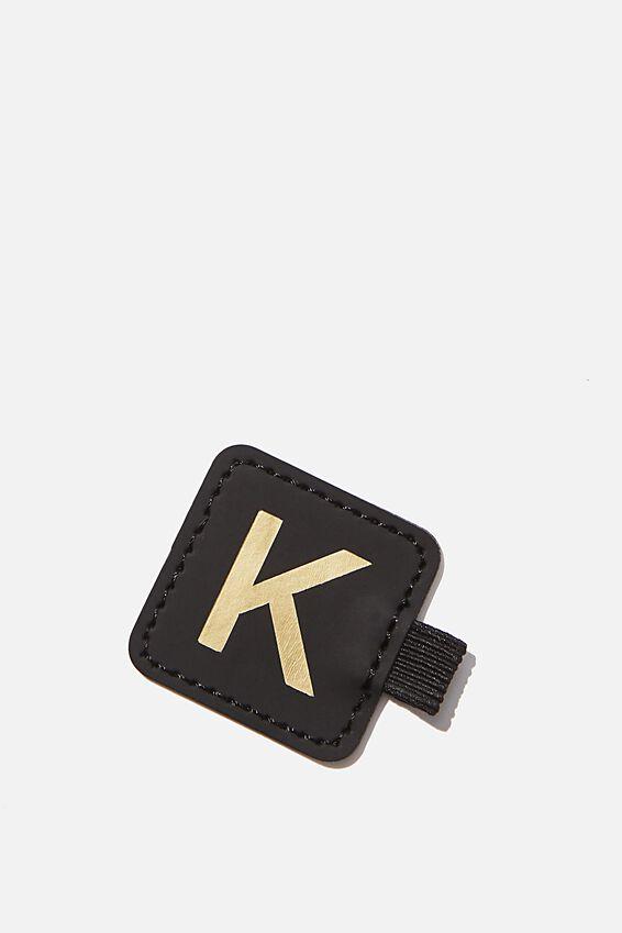 Pen Loop Sticker, BLACK K