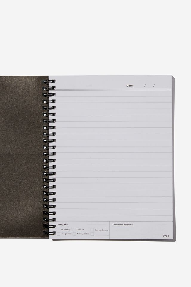 A5 Spinout Notebook Recycled, RG ASIA SPILL THE BUBBLE TEA