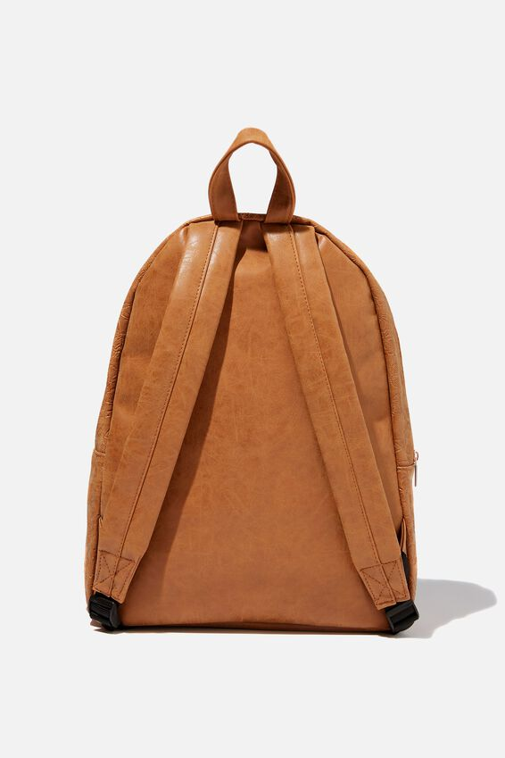 Commuter Backpack, BUTTERFLY TOOLED MID TAN