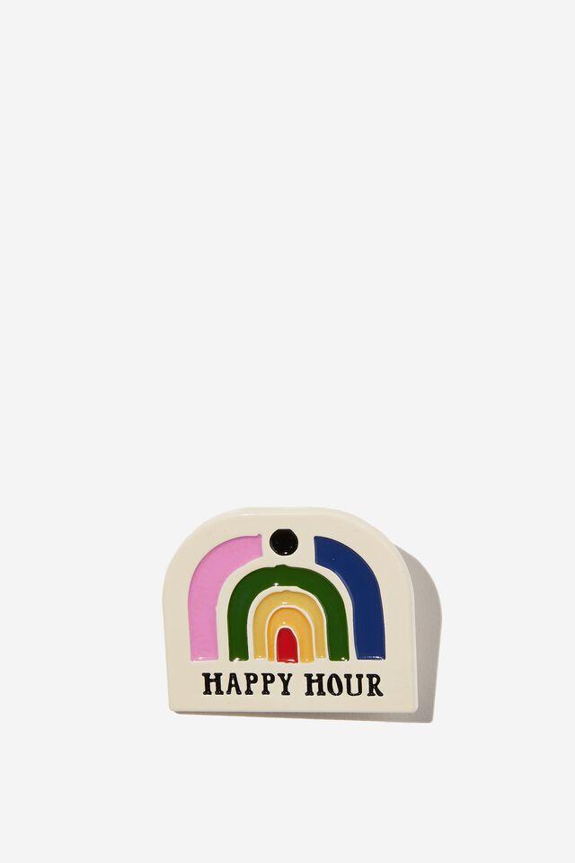 Enamel Badges, HAPPY HOUR
