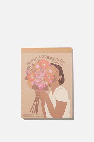 Artists Assistant Post Card, BLOOMIN LOVE PLANTS