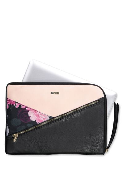Premium Laptop Case 13 Inch, NUDE & FLORAL