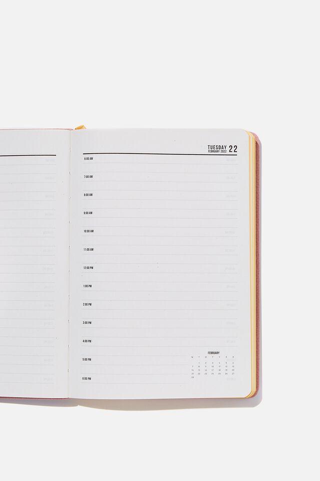 2022 A5 Daily Buffalo Diary, DUSTY LILAC