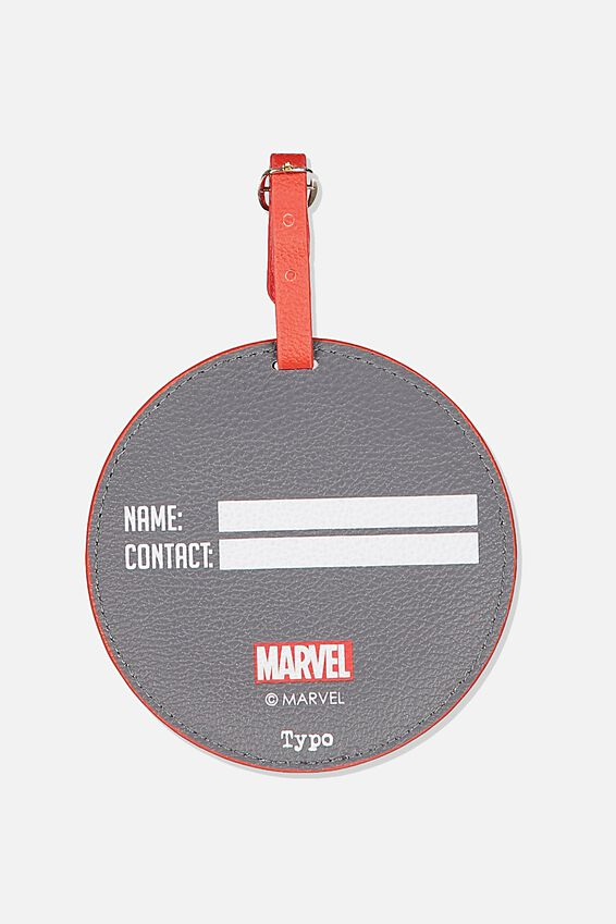 Marvel Shape Shifter Luggage Tag, LCN MARVEL CAPTAIN AMERICA