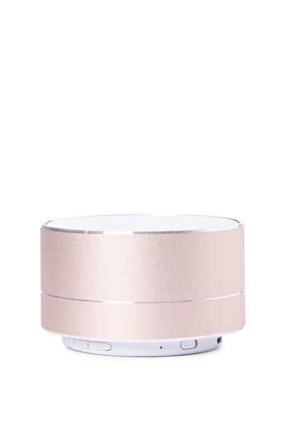 Metallic Speaker, ROSE GOLD