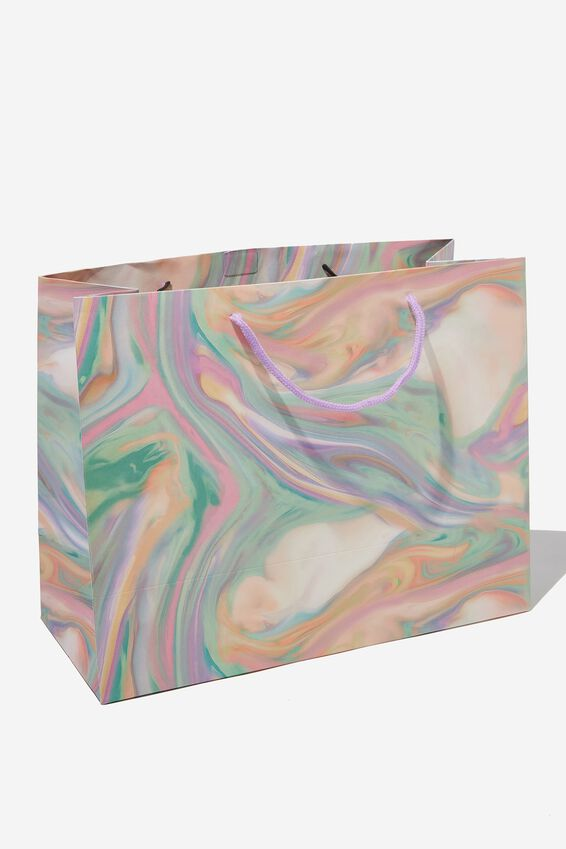 Stuff It Gift Bag - Medium, GELATI MARBLE