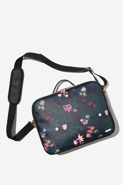Mobile Laptop Folio, JUNGLE FLORAL