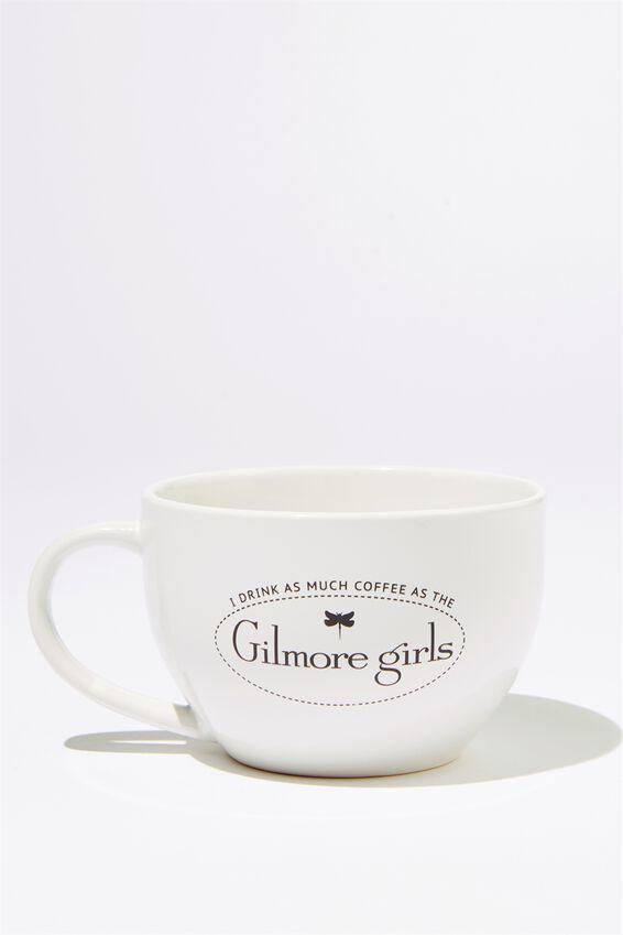 Gilmore Girls Big Mouth Mug, LCN WB GILMORE GIRLS
