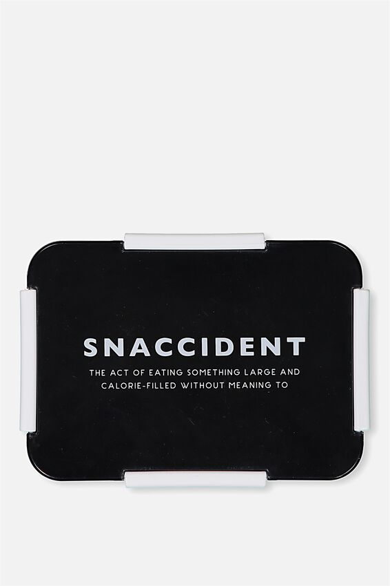 Rectangular Lunch Container, SNACCIDENT