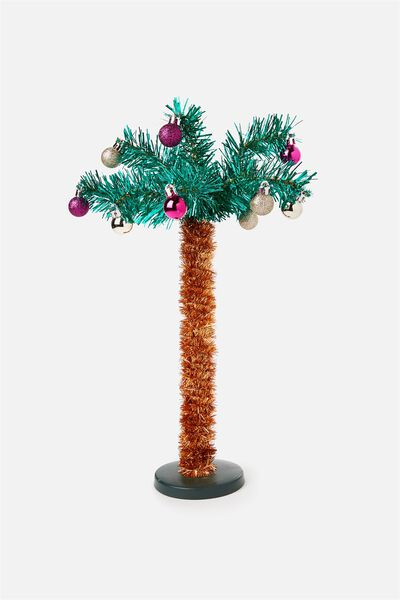 Novelty Mini Xmas Tree, PALM TREE