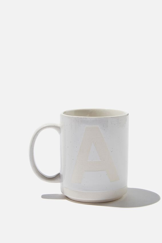 Alpha Daily Mug, CREAM SPECKLED A
