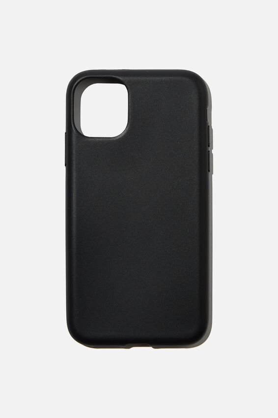 Recycled Phone Case iPhone 11, BLACK