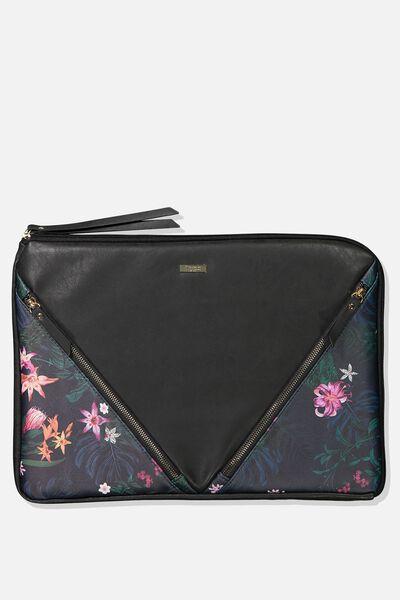 Premium Laptop Case 15 Inch, JUNGLE FLORAL