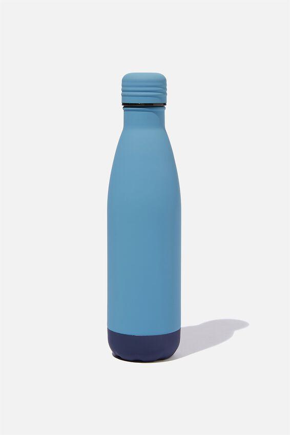 Metal Drink Bottle, PETROL BLUE