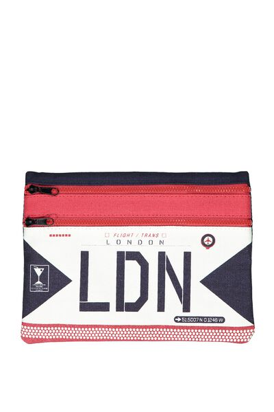 Canvas Travel Pouch, LDN