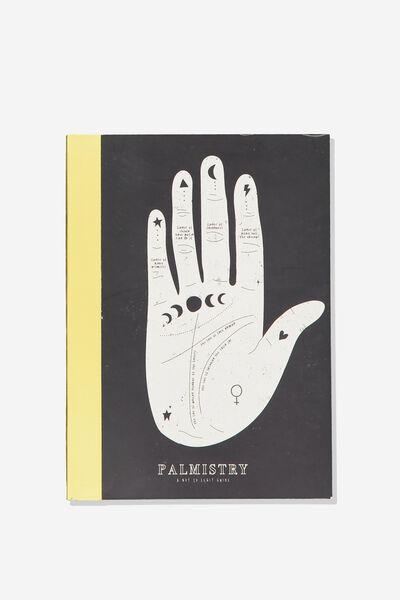 A5 Graduate Blank Notebook, PALM